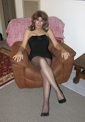 LBD Series Pix #1 (ericaklein8) Tags: legs shoes heels seductive stockings pantyhose nylons miniskirt dress hot sexy cute flirt exquisite elegant feminine tv td ts trans tranny tgirl transgender glamour attractive classy sensual
