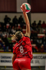 Alessia Orro (stefano_durdy) Tags: uyba yamamay red rosso sport stefanoreina pallavolo volley pallone bustoarsizio