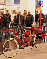 Cutting edge firefighting equipment (Schwanzus_Longus) Tags: essen motorshow german germany firefighting feuerwehr bicycle tandem bike