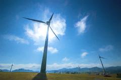 Windpower (agasfer) Tags: 2019 australia pentax k3 sigma1020 electricity windmills topaz impression2