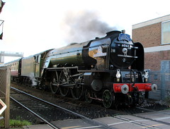 IMG_9212 (LincolnWarrior) Tags: steamtrain train transport steam tornado 60163 railway