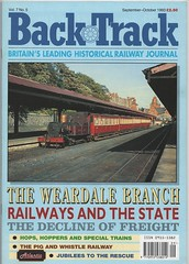 'Back Track', Sept-Oct. 1993. (Phineas Redux) Tags: backtrackseptoct1993 backtrackrailwaymagazine railwaymagazines magazinecovers