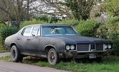 HGC 993J (Nivek.Old.Gold) Tags: 1971 oldsmobile cutlass 4door sedan 5700cc