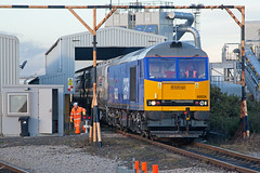 Inching (Richie B.) Tags: gbrf great britain railfreight brush traction brel procor mirrlees class 60 60026 6n87 lynemouth power station northumberland