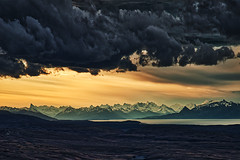 *** PATAGONIA LIGHTS *** (Andre Schwabe) Tags: patagonia southamerica sunset outdoor hiking nature storm nikon nikond800e adventure offroad mountain largoargentina argentina