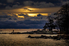 DSC04040 (Samuli Koukku) Tags: landscape sea seascape finland helsinki lauttasaari balticsea sunset sky cloud 2019 island shore a7r4 70200 gmaster gm nature naturephotography colorful weather