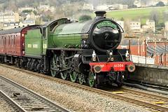 61306 Mayflower (Pete Rodgers) Tags: train steam steamtrain engine bathspa bath bathchristmasmarket mayflower 61306