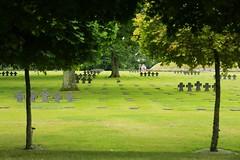 GER 0040 (boeddhaken) Tags: warcemetery cemetery cross crosses warvictims normandy battleofnormandy graveyard graves soldiers soldiersgraves france 4045 19401945 germancemetery germansoldiers