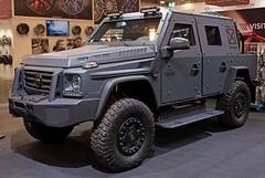 ENOK (Schwanzus_Longus) Tags: essen motorshow german germany modern car vehicle armored armoured mercedes benz 500 4x4 awd 4wd gruma enok p1