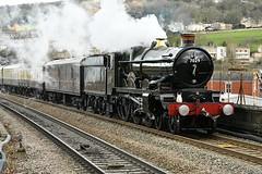 7029 Clun Castle (Pete Rodgers) Tags: 7029 cluncastle bathspa bathchristmasmarket engine steamengine train locomotive castle steam