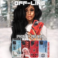 """""""Off-Line"""" (yungiconevent) Tags: yung icon yungicon event second life secondlife imvu shopping mall eyes bags purses phones makeup shoes dresses bails starbucks skins lashes chokers lipgloss poses shapes instagram flickr facebook store boots ads models christmas holiday necklace"""