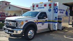 Medic 10 (Central Ohio Emergency Response) Tags: delaware county ems ohio emergency medical service ambulance ford medic horton