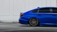 Frank's Bagged Honda Accord (jonniespecter) Tags: honda accord hondaaccord bagged airliftperformance bags warehouse miami photoshoot photography car auto automotive automotivephotography canon canoneos t6i blue canont6i