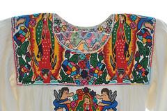 Mexican Blouse Oaxaca Guadalupe Embroidery (Teyacapan) Tags: sanvicentecoatlan oaxaca mexico blusa blouses virginofguadalupe embroidery textiles