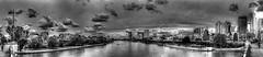 Blick von der Untermainbrücke mainabwärts (Jonny__B_Kirchhain) Tags: untermainbrücke frankfurt frankfurtammain mainhattan skyline wolkenkratzer main deutschland germany allemagne alemania germania 德國 德意志 федеративная республика германия alemanha repúblicafederaldaalemanha niemcy republikafederalnaniemiec