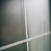 Closeup detail of Moisture condensation problems. Condensation drops on window