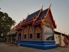 Wat Chumphon Mueang วัดจุมพลเมือง 1 (SierraSunrise) Tags: thailand phonphisai nongkhai esarn isaan religion temple buddhism blue