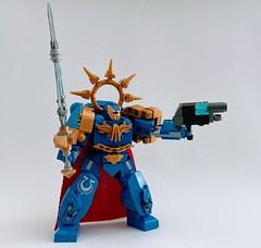 Lego Warhammer 40k Ultramarine Honor Guard (funnystuffs) Tags: warhammer 40k 40000 lego space marine ultramarine honor guard blood angels moc funnystuffs