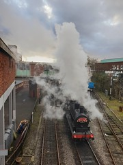 Steaming in Bury... (deltrems) Tags: train rail railway steamtrain steam locomotive bury greatermanchester eastlancsraillway elr