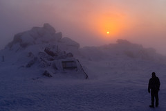 Sunset over Vitosha mountain (J.u.l.i.u.s.) Tags: nature new ngc natur inexplore explore mountain sky snow stones sunset bulgaria landscape landscapes rocks