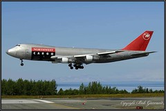 N629US Northwest Airlines Cargo (Bob Garrard) Tags: n629us northwest airlines cargo boeing 747 anc panc