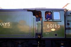 IMG_9224 (LincolnWarrior) Tags: steamtrain train transport steam tornado 60163 railway