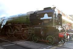 IMG_9213 (LincolnWarrior) Tags: steamtrain train transport steam tornado 60163 railway