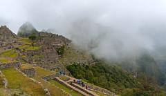 Cloudy Afternoon (Dmitry Shakin) Tags: peru machupicchu ruin mountain hill cloud terrace