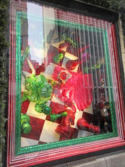 2019 Christmas Windows Bergdorf Goodman Dept Store 1607 (Brechtbug) Tags: 2019 christmas windows representing games the new york historical society with folk art figures holidays winter bergdorf goodman department store 5th avenue nyc between 57th 58th streets holiday monster mannequins 12082019 december