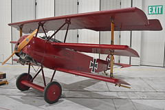 Photo of Replica Fokker DRI '477/17' (G-FOKK)