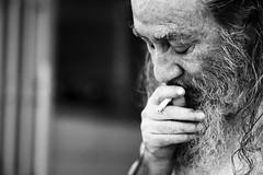 Suffering (Metin Colak) Tags: suffering existence human nothingness sisyhphus camus alienation lonely alone loneliness darkness man shadow cyprus north nicosia street portrait leica mandler blur bokeh