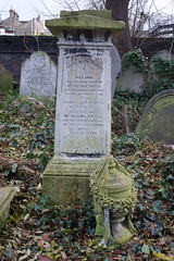 8th December 2019 (themostinept) Tags: grave tomb graveyard cemetery urn stone london abneyparkcemetery hackney n16 stokenewington