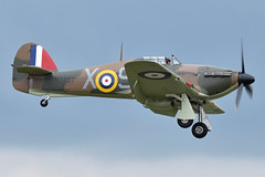 Photo of Hawker Hurricane I 'V7497 / SD-X' (G-HRLI)