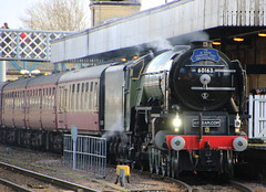 IMG_9204 (LincolnWarrior) Tags: steamtrain train transport steam tornado 60163 railway