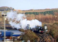IMG_9196 (LincolnWarrior) Tags: steamtrain train transport steam tornado 60163 railway