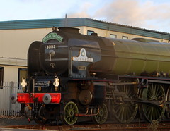 IMG_9235 (LincolnWarrior) Tags: steamtrain train transport steam tornado 60163 railway