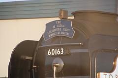 IMG_9233 (LincolnWarrior) Tags: steamtrain train transport steam tornado 60163 railway