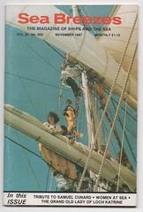 'Sea Breezes', November 1987. (Phineas Redux) Tags: seabreezesnovember1987 seabreezesmarinemagazine shipmagazines marinephotography magazinecovers