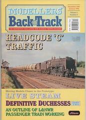 'Modellers' Back Track', Dec 1993-Jan 1994. (Phineas Redux) Tags: modellersbacktrackdec1993jan1994 railwaymagazines modellingrailways magazinecovers