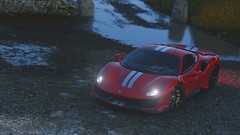 '19 Ferrari 488 Pista (4) (BugattiBreno) Tags: ferrari 488 pista racing driving italy beauty beautiful forza horizon 4 fh4 forzatography photography interior