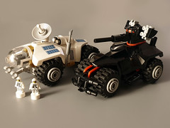 War and Peace (Jerac) Tags: lego scifi rover vehicle space