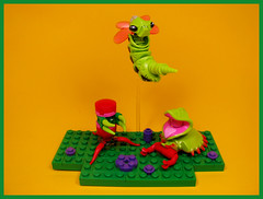 Polyp Research & Development (Karf Oohlu) Tags: lego moc scifi fantasy polyp alien