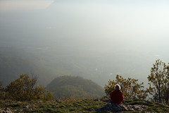Mont Saint-Michel @ Curienne (*_*) Tags: trail sentier curienne november 2019 afternoon marche walk europe france savoie 73 chambery mountain montagne nature randonnee hike hiking autumn automne fall bauges montsaintmichel sunset sunny