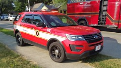 EMS 15 (Central Ohio Emergency Response) Tags: columbus ohio fire division truck ems supervisor chief ford explorer suv