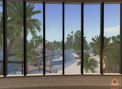 My World (carloyn1cs) Tags: secondlife beach window