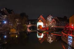 Germany 12 2019 (pasiak75) Tags: odbicie mirror reflections noc night 2019 norymberga roth winter