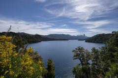 The Seven Lakes Road, Patagonia (StarCitizen) Tags: argentina patagonia mountains lake trees sky water foliage
