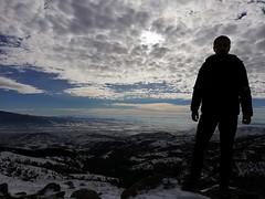 Frozen Impact (vlatko.nikolov91) Tags: winter mountain sky clouds impact