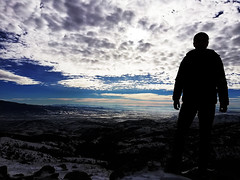 Frozen Impact + (vlatko.nikolov91) Tags: winter mountain sky clouds impact