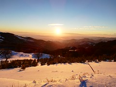 Winter Sunset (vlatko.nikolov91) Tags: winter sunset wormlight snow